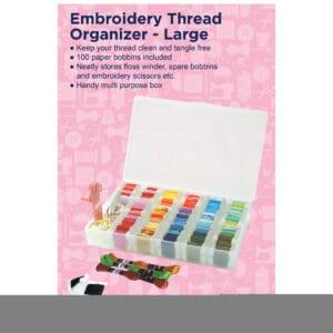 Embroidery Organiser Storage Box