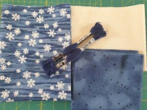 Blue Snowflakes kit