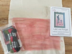 Contents of Coloured kit