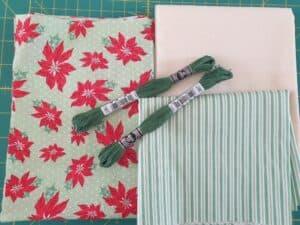 Green poinsettia kit