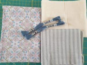 Grey Floral kit