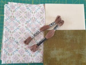 Grunge Floral Kit