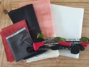 Coloured kit