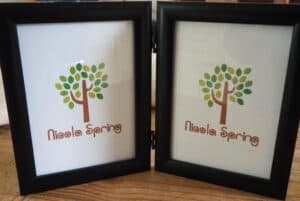 Free Standing Twin Frame