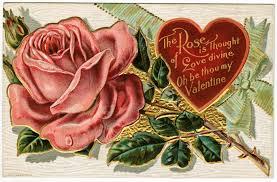 Old Valentine Card